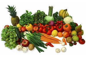 Bổ sung nhiều chất xơ và khoáng chất từ rau xanh và hoa quả cho cơ thể