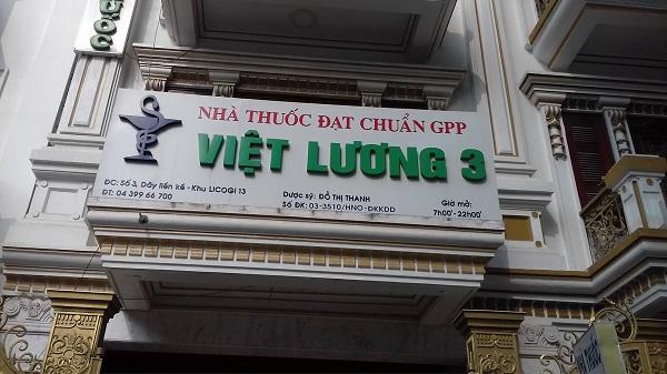nhà thuốc Việt Lương